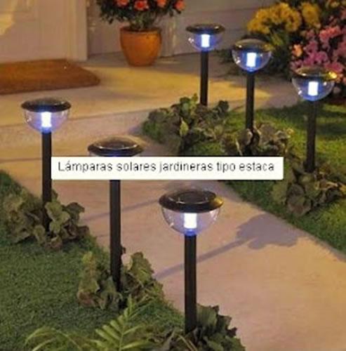 Lamparas jardin solares - Lampara solares para jardin ...